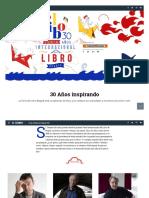 Feria Del Libro de Bogotá 2017, Filbo 30 Años - ELTIEMPO