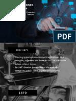 Historia Comunicaciones Digitales (Linea de tiempo)