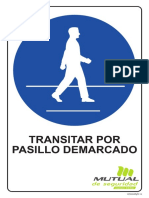 Transitar Por Pasillo Demarcado