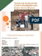 Estudio de Suelos de Sector Panamericana