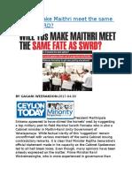 Will TUs make Maithri meet the same fate as SWRD.docx