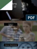 Presentacion sobre el Cyberbullying