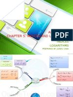 Chapter 5 Indices and Logarithms