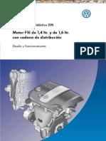 Manual Volkswagen Motores Fsi 1.4 1.6 Cadena Distribucion
