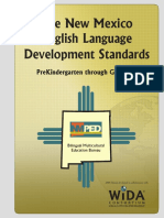 new mexico eld standards effective august 31 2009