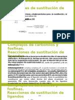 Complejos de Carbonilos y Fosfinas