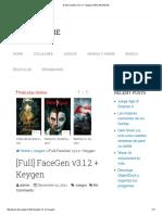 [Full] FaceGen v3.1.2 + Keygen _ DESCARGA2