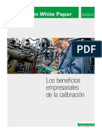 Beamex White Paper - The Business Benefits of Calibration LAT