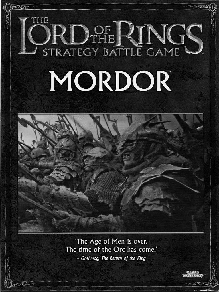 Lotr Sbg Sourcebook Mordor