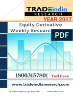 Weekly Stock Market Research Report for 02-May-2017 to 05-May-2017 TradeIndia Research