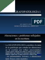 Grafopatologia i.