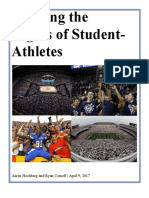 finalhochberg cornell-revisingtherightsofstudent-athletes