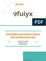 using digital assessments to analyze data and inform instruction