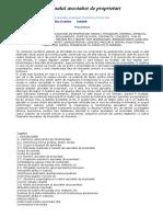 Manualul Asociatiei de Proprietari