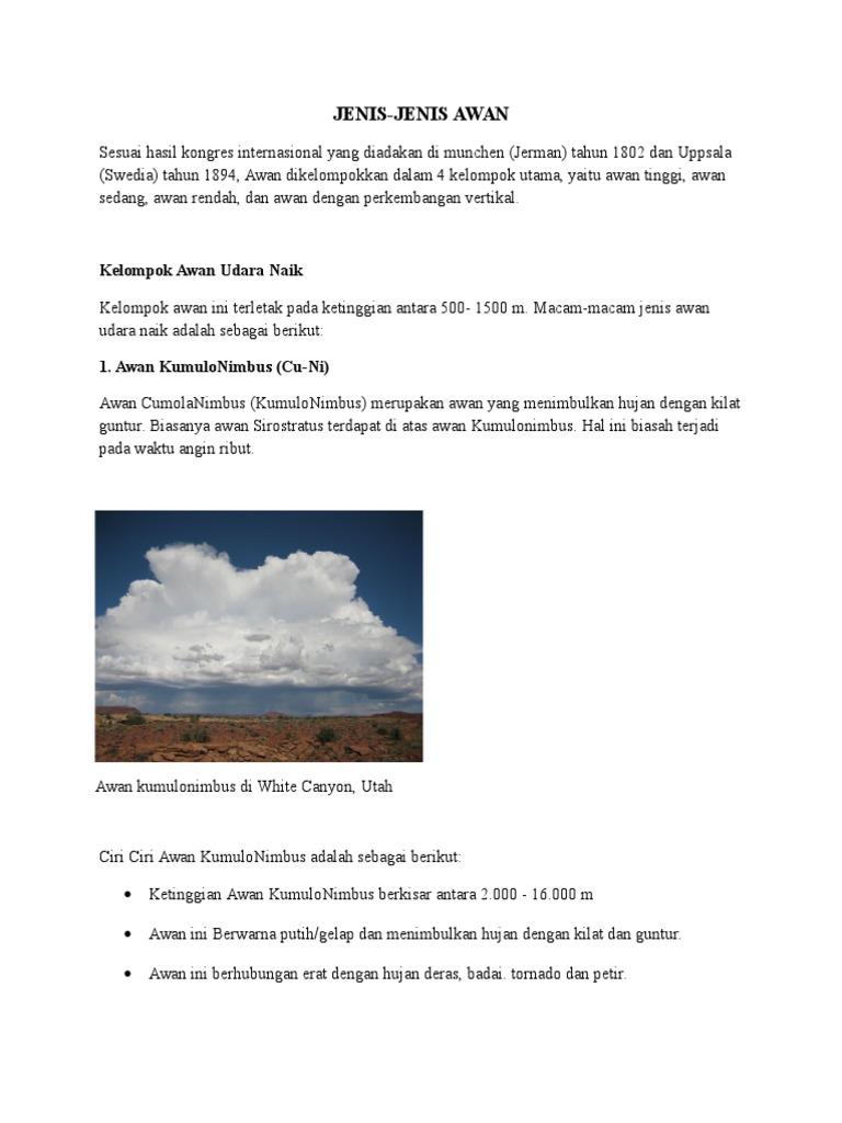 72 Gambar Awan Berikut Dengan Ciri Warna Putih/kelabu Paling Keren