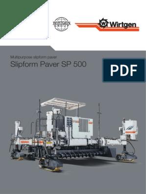 Slipform Paver SP 500