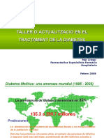 Gap Taller Tractament Diabetes