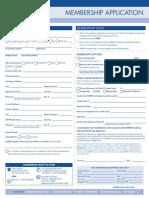 Sh Rm Professional Membership Application