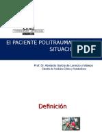 El Paciente Politraumatizado en Situación Critica 2011 2012