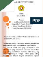 1. Presentasi IDW Dan Kriging
