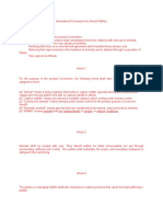 Pil Treaty