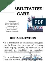 Rehabilitative Care