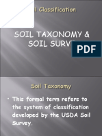 Soil Classification (Taxonomy)