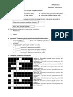 Examen Lengua 4 Primaria Tema 11