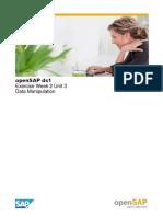 OpenSAP ds1
