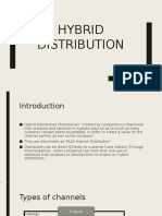 Hybrid Distribution Model