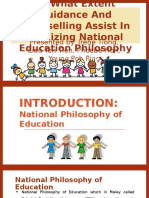 National Education Philosophy