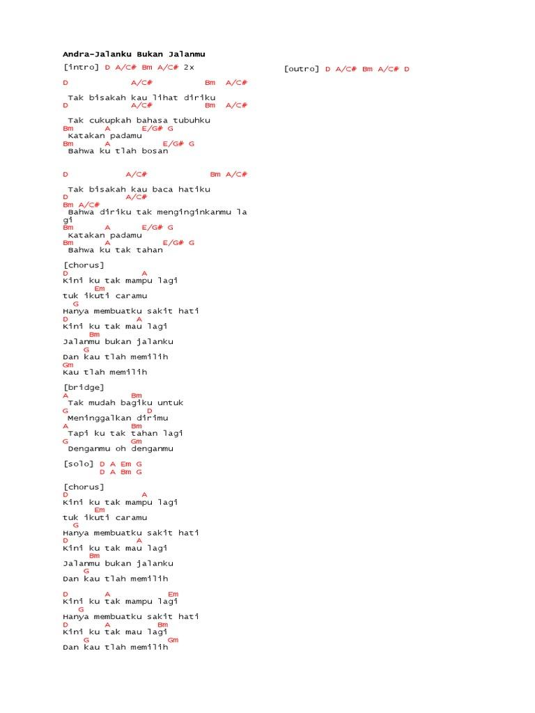 Lagu Chord
