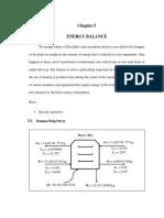 Energy Balance Draft