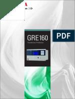 Transformer Protection Relay GRE160 Brochure 12027-1 0