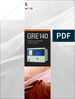 Directional Overcurrent Protection Relay GRE140 Brochure 12026-1 0
