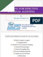 PPT_Sampling for Effective Internal Auditing (Mwenya Chitalu CIA)