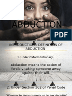 Abduction in Malaysia