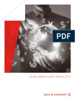 BAIN REPORT Global Private Equity Report 2017
