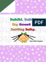 Habibi Habibi My Sweet Darling Baby
