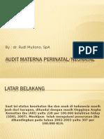 Audit Materna Perinatal