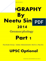 1. Geomorphology by Neetu Singh part 1 of 14. by Raz Kr ( Geography Optional).pdf