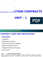 Lecture Notes Contract Unit 1