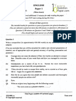 ISC 2015 English Paper 1 Class 12