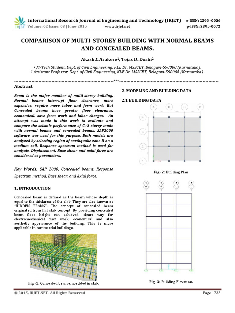 concealed beam vs normal beams pdf | Beam (Structure) | Shear Stress