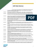 OpenSAP Ds1 Week 2 Transcript