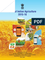 State of Indian Agriculture,2015-16