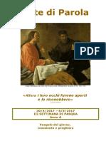 Sete di Parola - III settimana di Pasqua - A.doc