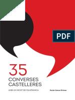 """Extracte del llibre """"35 converses castelleres amb un Xicot de Vilafranca"""""""