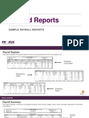 Payroll Summary Template from imgv2-1-f.scribdassets.com