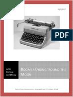 Boomeranging'round the Moon